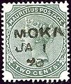 1890 2c Mauritius Moka SG103.jpg