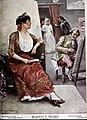 1907-07-27, Blanco y Negro, Una modelo de Goya, Enrique Estevan.jpg
