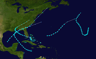 1907 Atlantic hurricane season hurricane season in the Atlantic Ocean