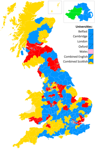 United Kingdom general election, 1923 - Image: 1923 election wiki