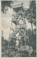1932 postcard of Boč observation tower.jpg