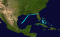 1937 Atlantic tropical storm 6 track.png
