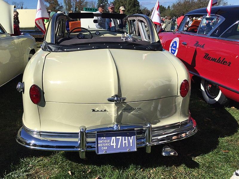 File:1951 Nash Rambler Custom convertible at 2015 AACA Eastern Regional Fall Meet 4of9.jpg