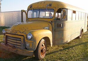 Carpenter Body Company - 1955 Carpenter/GMC school bus