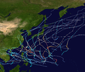 1962 Pacific typhoon season summary map.png