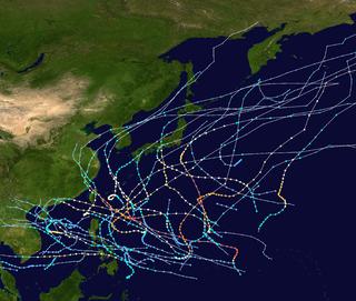1962 Pacific typhoon season Typhoon season in the Pacific Ocean
