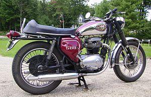BSA motorcycles - 1969 BSA Royal Star