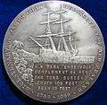 1969 James Cook NZ Bicentennial Silver Medal by James Berry. Reverse.jpg