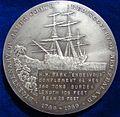 1969 James Cook NZ Bicentennial Silver Medal by James Berry. Reverse.jpg