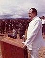 1971. Diciembre, 5. Rafael Caldera en el Campamento Mariscal Sucre de la Gran Sabana.jpg