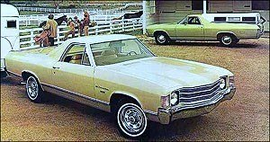 Coupé utility - 1972 Chevrolet El Camino