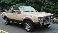 1981 AMC Eagle 4-WD convertible