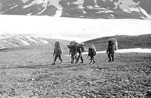 Expedition style - Example of expedition style: first time expedition to Tartu Ülikool 350 in Pamir Mountains (1982).