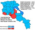 1998 Presidential election in Armenia (first round).jpg