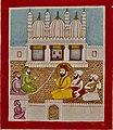 19th century Janam Sakhi, Guru Nanak converses with Muslim clerics, Kapany collection.jpg