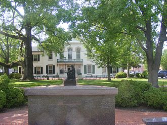 Eastern Shore of Maryland - Queen Anne's County courthouse