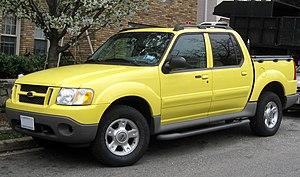 Ford Explorer Sport Trac - Image: 1st Ford Explorer Sport Trac 03 21 2012