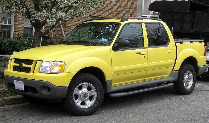 File:1st Ford Explorer Sport Trac -- 03-21-2012.JPG