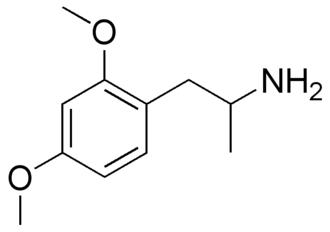 Dimethoxyamphetamine - Image: 2,4 DMA