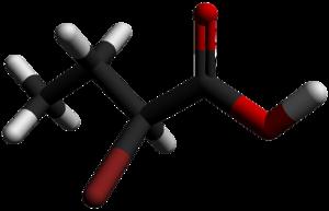 2-Bromobutyric acid - Image: 2 Bromobutyric acid 3D sticks by AHRLS 2012