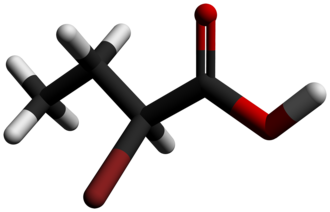 2-Bromobutyric acid - Image: 2 Bromobutyric acid 3D sticks by AHRLS 2012