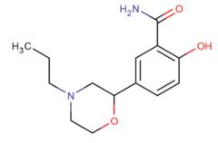 2-hidroksi-5 - (4-propylmorpholin-2-yl) benzamide.png
