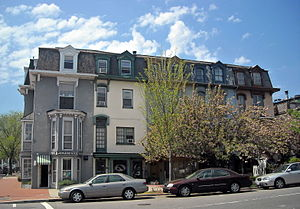 Strivers' Section Historic District - Image: 2000 2008 17th Street, NW