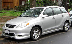 Toyota Matrix - 2003–2004 Toyota Matrix XR