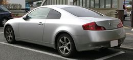 2003-2005 NISSAN SKYLINE COUPE 5AT rear.jpg