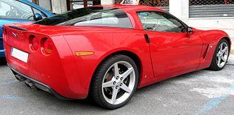 Chevrolet Corvette (C6) - Chevrolet Corvette coupé