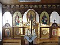 2004 iconostasis in chapel of Basilian Monastery in Kula.jpg