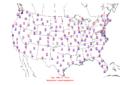 2006-02-09 Max-min Temperature Map NOAA.png