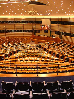 Espace Léopold - The Parliamentary hemicycle