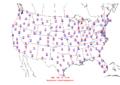 2008-09-11 Max-min Temperature Map NOAA.png