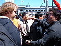 2008 Olympic Torch Relay in SF - Justin Herman Plaza 22.JPG