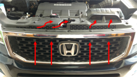 Ilration Of How Fresh Air Enters Forward The Radiator And It Is Directed To Airbox 2009 Rtl With Oem Accessory Grille