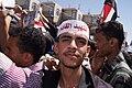 2011–2012 Yemeni revolution (from Al Jazeera) - 20110301-13.jpg