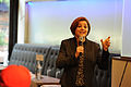 2011 September 27 Christine Quinn gesturing.jpg