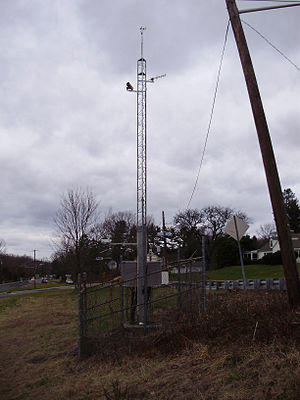 Automatic weather station - An RWIS station