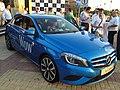 2012 Blue Mercedes A-Class W176 (7661395436).jpg