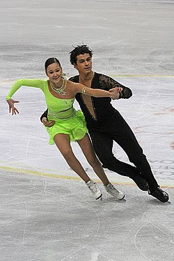 2012 World Junior FS Karina Uzurova Ilias Ali2.jpg