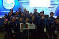 2013.10.03. БНСУ-ын Инчён хотод болсон Азийн өсвөрийн хөлбөмбөгчдийн Фестивалийн нээлтийн ажиллагаа..jpg