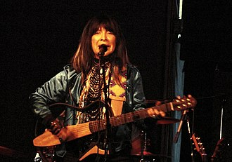 Buffy Sainte-Marie - Sainte-Marie performing at The Iron Horse in Northampton, Massachusetts, on June 15, 2013