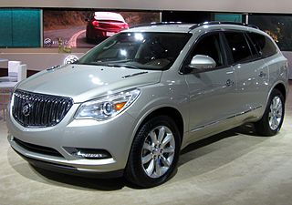 Buick Enclave SUV manufactured by Buick