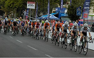2013 UCI Road World Championships – Women's junior road race - Peloton (lap 3)