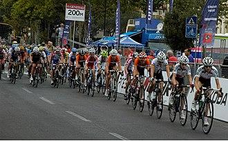 2013 UCI Road World Championships – Women's junior road race - Peloton (lap 3)