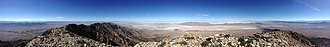 Pilot Peak (Nevada) - Image: 2014 07 01 04 56 39 Panorama from the summit of Pilot Peak, Nevada