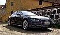 2014 Audi A7 Sportback Typ 4G Facelift 3.0 TDI competition quattro Biturbo clean diesel V6 tiptronic Vorderansicht Daytonagrau-Perleffekt.jpg