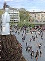 2014 Sechseläuten - Sechseläutenplatz-'fäscht' - Böögg 2014-04-26 18-44-57 (P7700).JPG