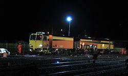 2014 Taunton track renewals - Colas Matisa B41UE 75407.JPG